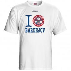 Bavlnené tričko FK Bardejov vz.6 - biela