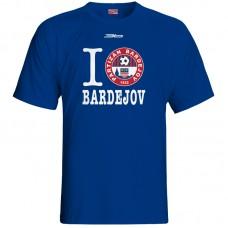 Bavlnené tričko FK Bardejov vz.6 - royal modrá