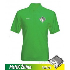 Pánska polokošeľa MsHK Žilina - zelená