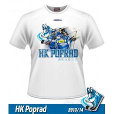 Tričko HK Poprad NEW - biela