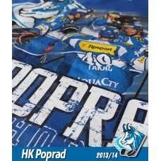 Tričko HK Poprad NEW - royal modrá