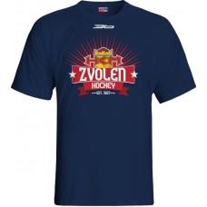 Tričko HKM Zvolen 2015 vz. 9 - modrá–tmavomodrá