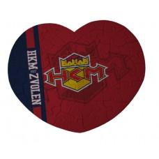Puzzle srdce HMM Zvolen 2015