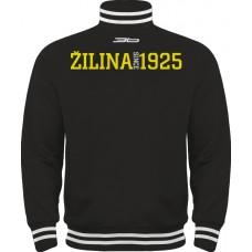 Tepláková mikina na zips MsHK Žilina - čierna