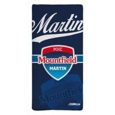 Sublimovaná osuška MHC Martin 2015 vz. 3