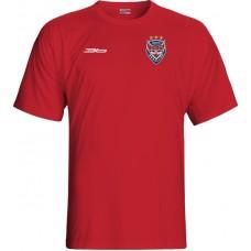 Tričko HC 46 Bardejov 0115 - červená