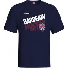 Tričko HC 46 Bardejov 2015 vz. 3 - modrá–tmavomodrá
