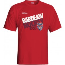 Tričko HC 46 Bardejov 0315 - červená