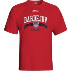 Tričko HC 46 Bardejov 0515 - červená