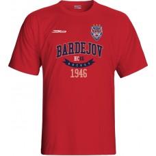Tričko HC 46 Bardejov 0615 - červená