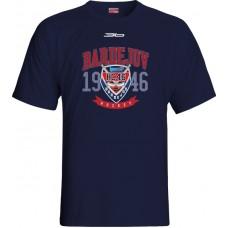 Tričko HC 46 Bardejov 0715 - modrá–tmavomodrá