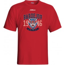 Tričko HC 46 Bardejov 0715 - červená