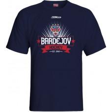 Tričko HC 46 Bardejov 2015 vz. 9 - modrá–tmavomodrá