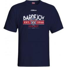 Tričko HC 46 Bardejov 1015 - modrá–tmavomodrá