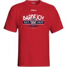 Tričko HC 46 Bardejov 1015 - červená