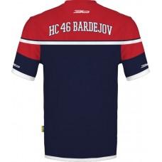 Tričko (dres) HC 46 Bardejov - modrá–tmavomodrá