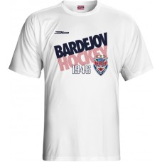 Tričko HC 46 Bardejov 0315 - biela