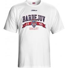 Tričko HC 46 Bardejov 0515 - biela