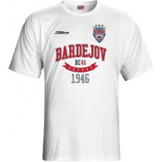 Tričko HC 46 Bardejov 0615 - biela