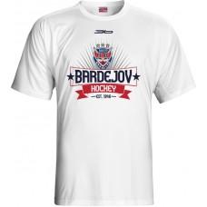 Tričko HC 46 Bardejov 2015 vz. 9 - biela
