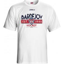 Tričko HC 46 Bardejov 1015 - biela