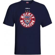 Tričko HC 46 Bardejov 0215 - modrá–tmavomodrá
