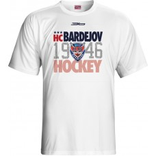 Tričko HC 46 Bardejov 0415 - biela