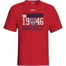 Tričko HC 46 Bardejov 0415 - červená
