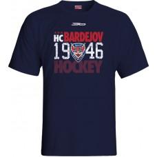 Tričko HC 46 Bardejov 2015 vz. 4 - modrá–tmavomodrá