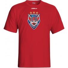 Tričko HC 46 Bardejov 1115 - červená