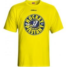 Tričko SHK 37 Piešťany 2015 vz. 2 - svetlo žltá