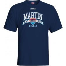 Tričko MHC Martin 2015 vz. 5 - modrá–tmavomodrá