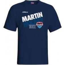 Tričko MHC Martin 2015 vz. 3 - modrá–tmavomodrá