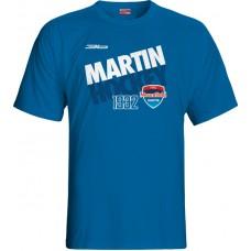 Tričko MHC Martin 2015 vz. 3 - royal modrá