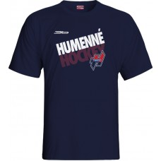 Tričko MHK Humenné 2015 vz. 3 - modrá–tmavomodrá