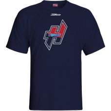 Tričko MHK Humenné 2015 vz. 10 - modrá–tmavomodrá