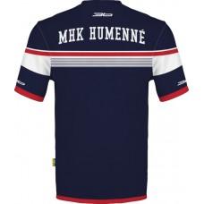 Sublimované (dres ) tričko MHK Humenné - modrá–tmavomodrá