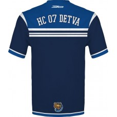 Tričko (dres)  HC 07 Detva - modrá–tmavomodrá