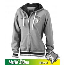Dámska mikina MsHK Žilina black&white