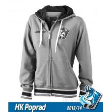 Dámska bavlnená mikina HK Poprad black&white