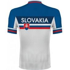 Cyklo dres Slovensko - royal modrá