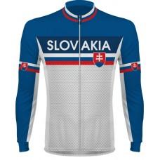 Cyklo dres Slovensko - dlhý rukáv