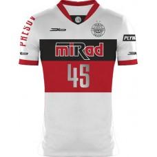 Volejbalový dres VK PU Mirad Prešov 2015/16 - svetlá verzia