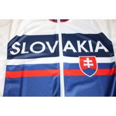 Cyklo dres Slovensko - biela