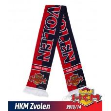 Pletený šál HKM Zvolen 2013/14