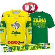 AKCIA Dres + tričko + šál  MsHK ŽILINA