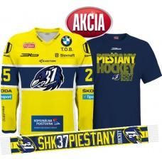 AKCIA Dres + tričko + šál  ŠHK 37 PIEŠŤANY 2015/16