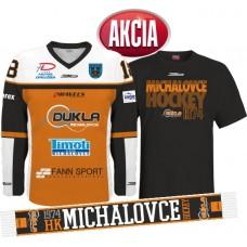 AKCIA Dres + tričko +šál  HK DUKLA MICHALOVCE