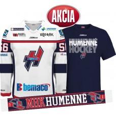 AKCIA Dres + tričko + šál  MHK Humenné 2015/16