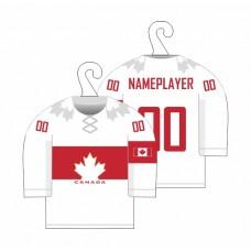 Minidres Kanada - biela